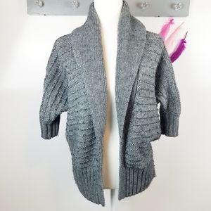 Size M   Express Knit Open Cardigan 3/4 Sleeve